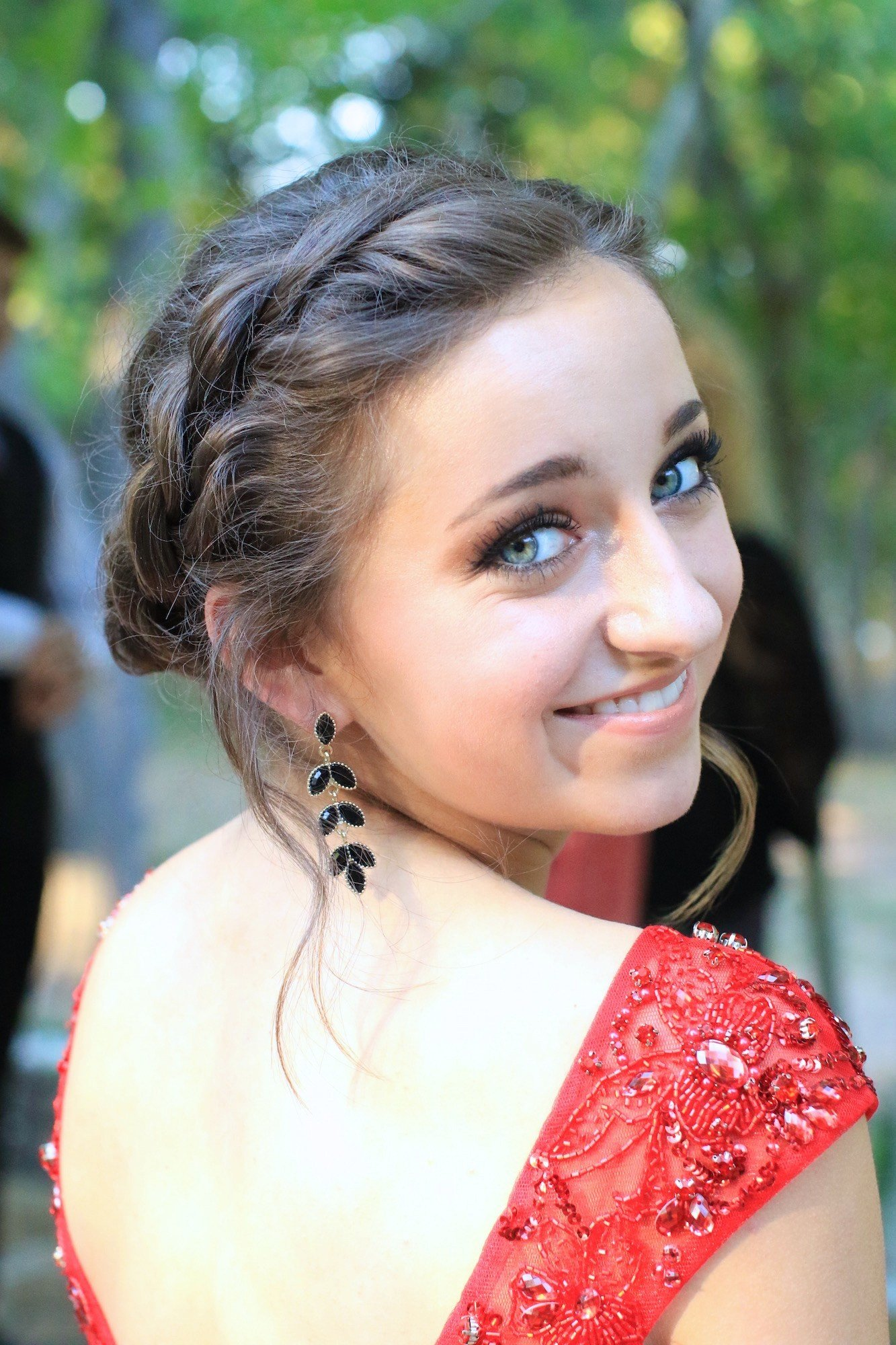 New Rope Twist Updo Homecoming Hairstyles Cute Girls Hairstyles Ideas With Pictures