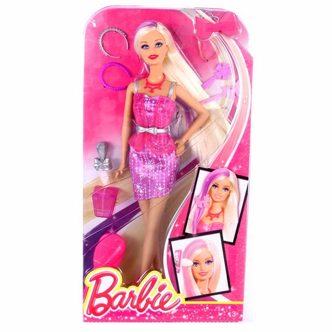 New Mattel Barbie Capelli Glam Hair Colour Change And Make Up Ideas With Pictures Original 1024 x 768
