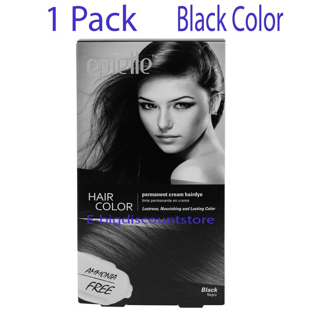 New Black Hair Color For Women Epielle Permanent Hair Dye Ammonia Free 1 Pack New Ebay Ideas With Pictures