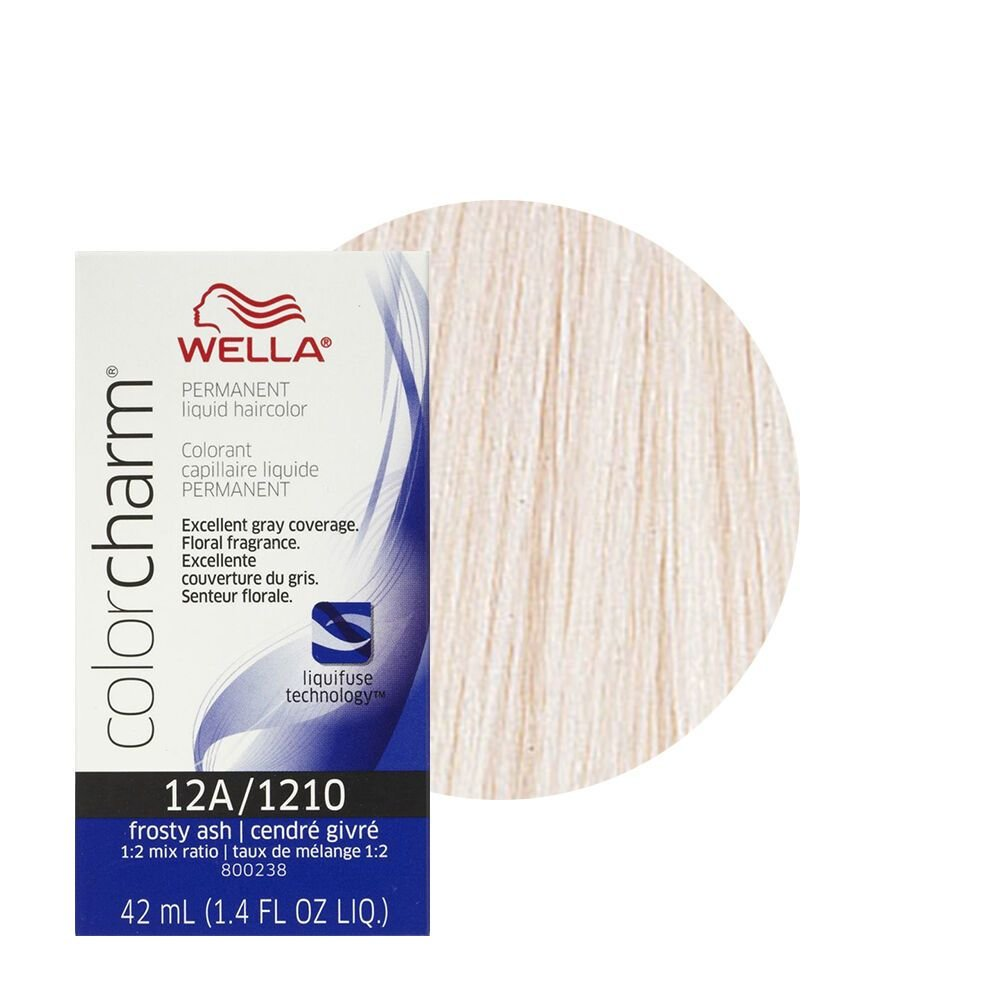 New Wella Color Charm Permament Liquid Hair Dye 42Ml Frosty Ideas With Pictures