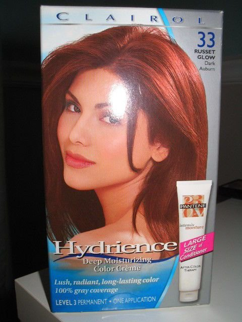 New 1 Clairol Hydrience Russet Glow Dark Auburn 33 Hair Dye Ideas With Pictures