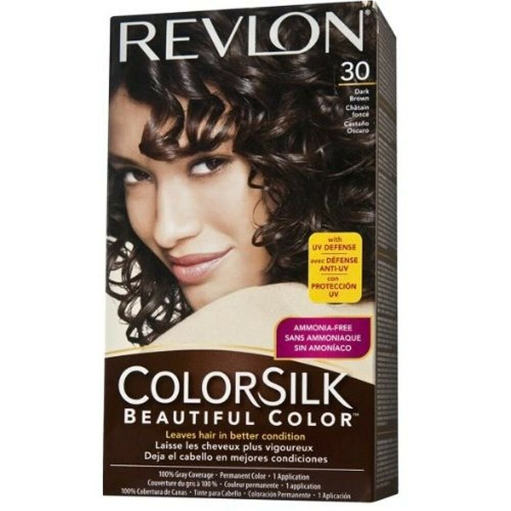 New Revlon Colorsilk Haircolor 30 Dark Brown 3N Ebay Ideas With Pictures