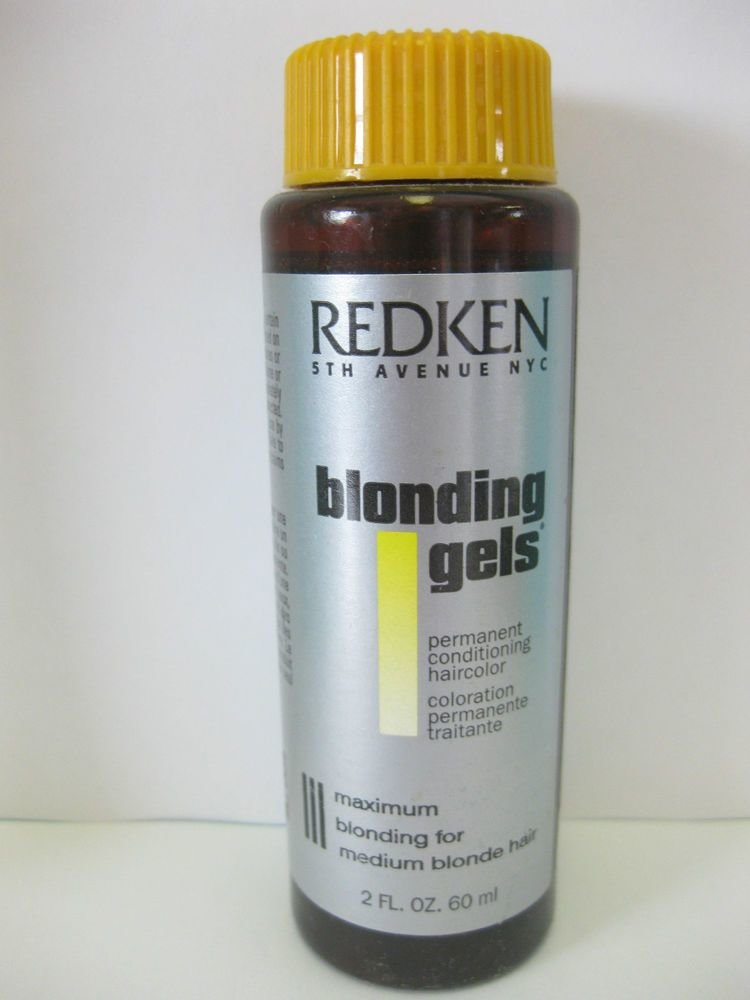 New Redken Blonding Gels Permanent Hair Color 2 Oz Ebay Ideas With Pictures
