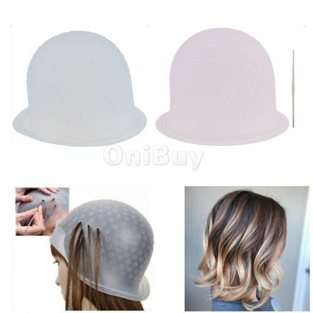 New Professional Reusable Hair Coloring Highlighting Dye Cap Hook Frosting Tipping Ebay Ideas With Pictures