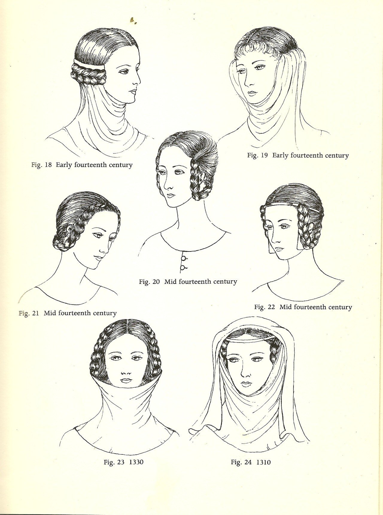 New Hair Fashion Women Hairstyle Medieval Mediumaevum • Ideas With Pictures