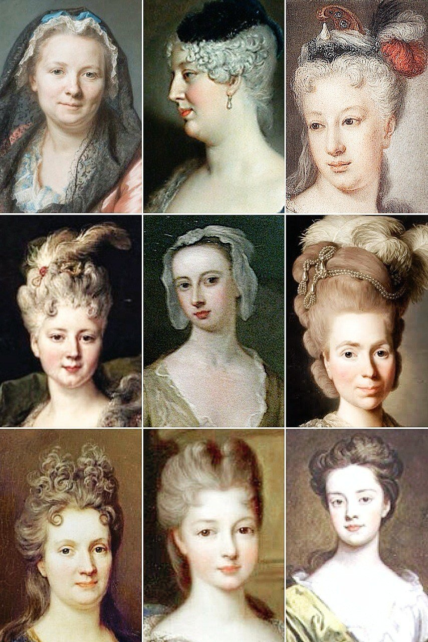New 18Th Century Woman's Hairstyles A Collection Of The Ideas With Pictures