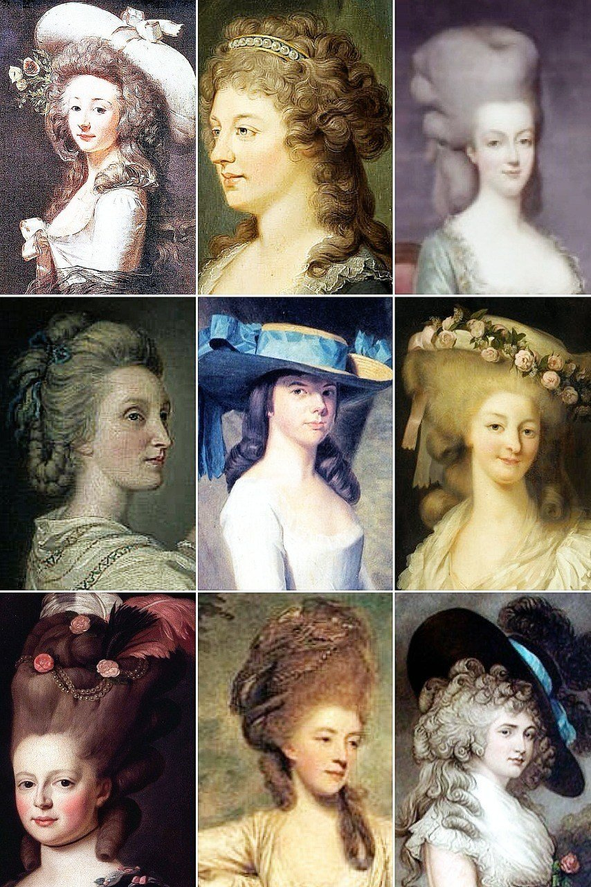 New 18Th Century Woman's Hairstyles A Collection Of The Ideas With Pictures Original 1024 x 768