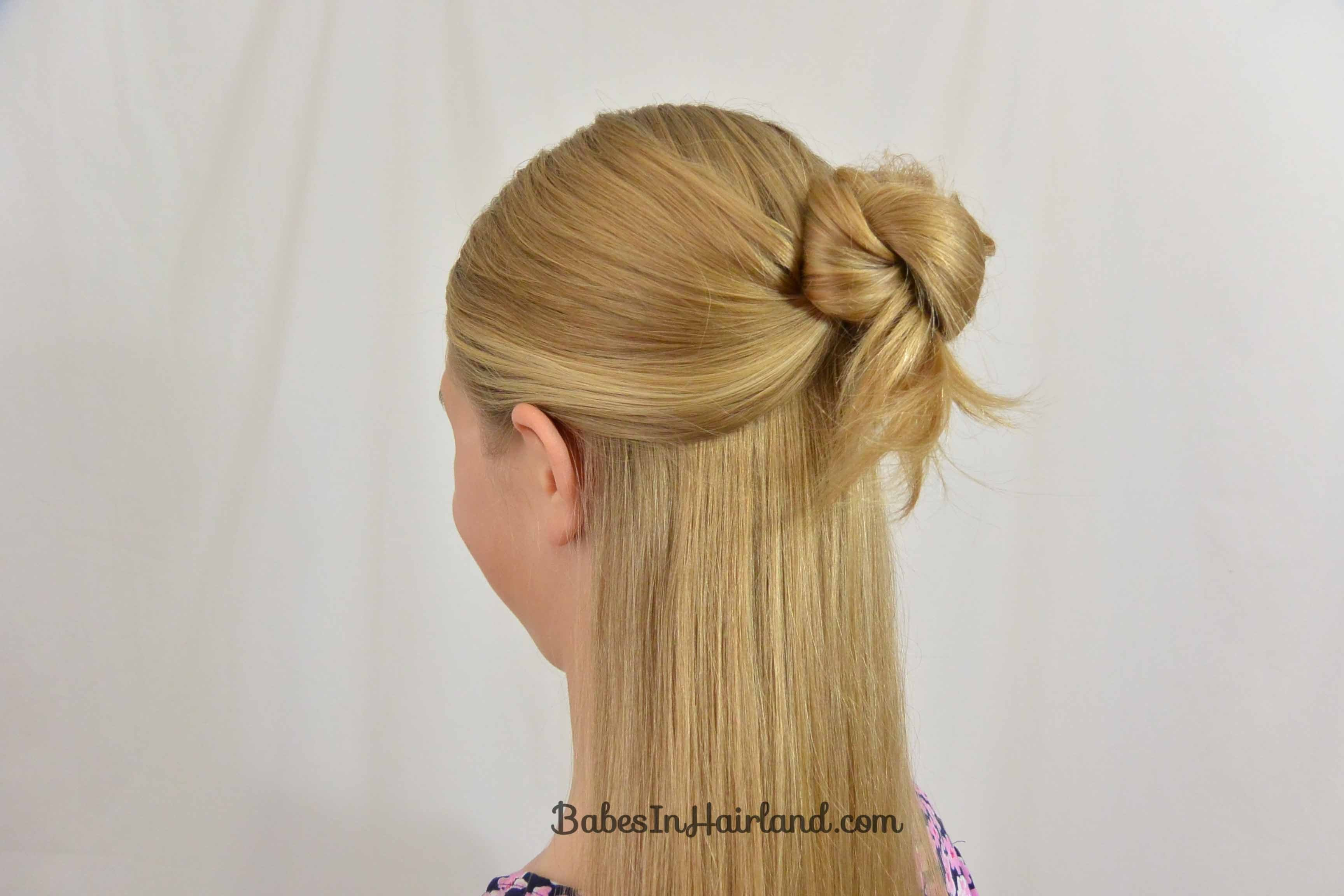 New Easy 1 Minute Knotted Hairstyle B*B*S In Hairland Ideas With Pictures Original 1024 x 768