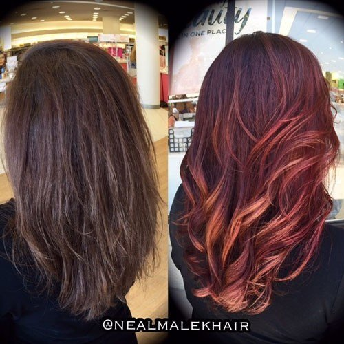 New Hair Color How To Marbled Ombré By Neal Malek Beauty Ideas With Pictures