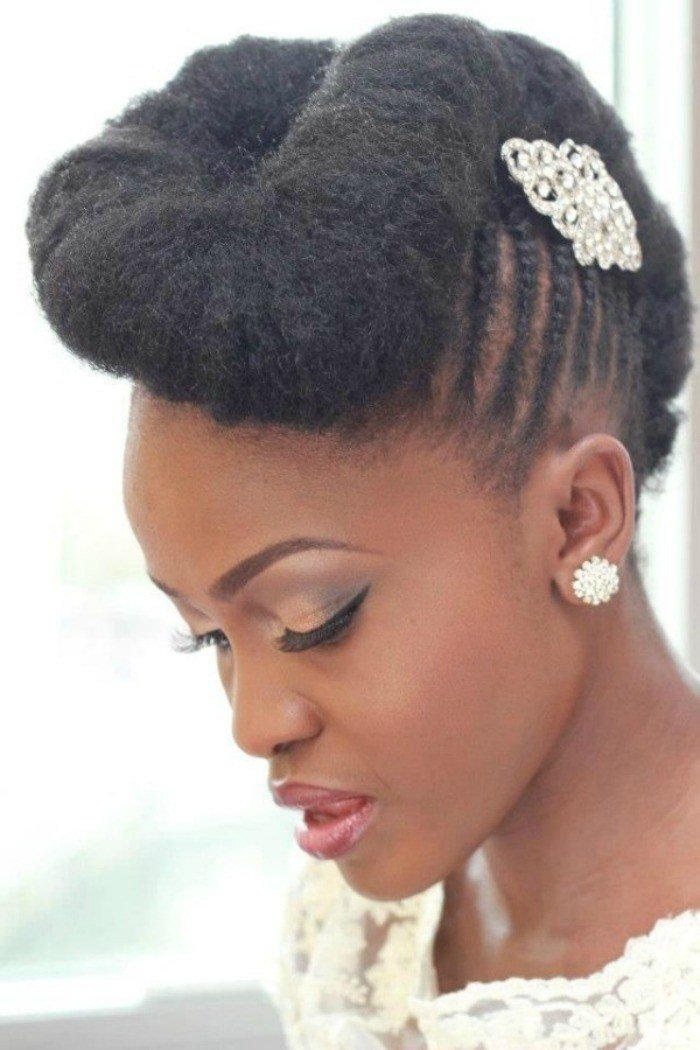 New 7 Wedding Styles For Natural Hair Brides To Be Ideas With Pictures