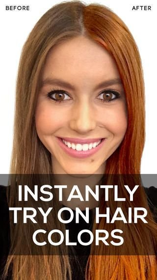 New Hue Altering Hair Apps Hair Color App Ideas With Pictures
