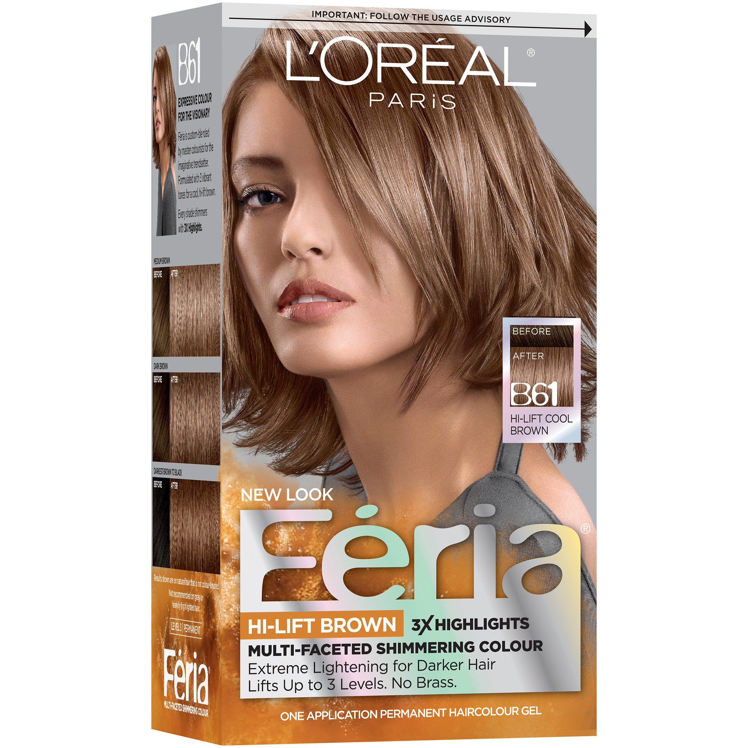 New L Oreal Paris Feria® Multi Faceted Shimmering Colour Hair Ideas With Pictures