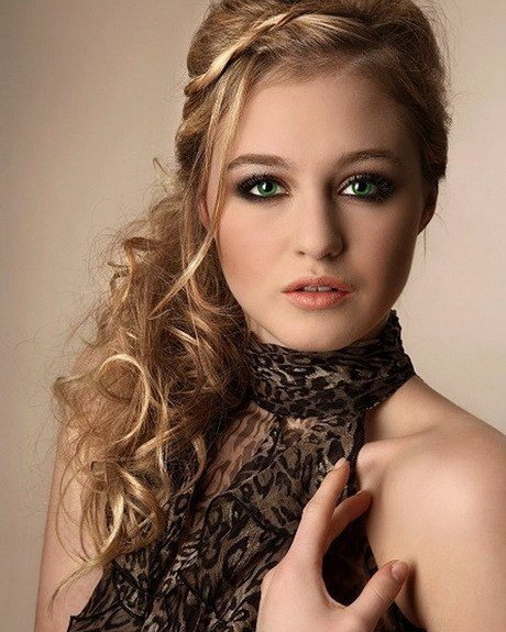 New Curly Party Hairstyles Ideas With Pictures