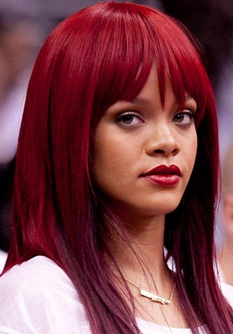 New Red Hairstyles For Black Women Ideas With Pictures