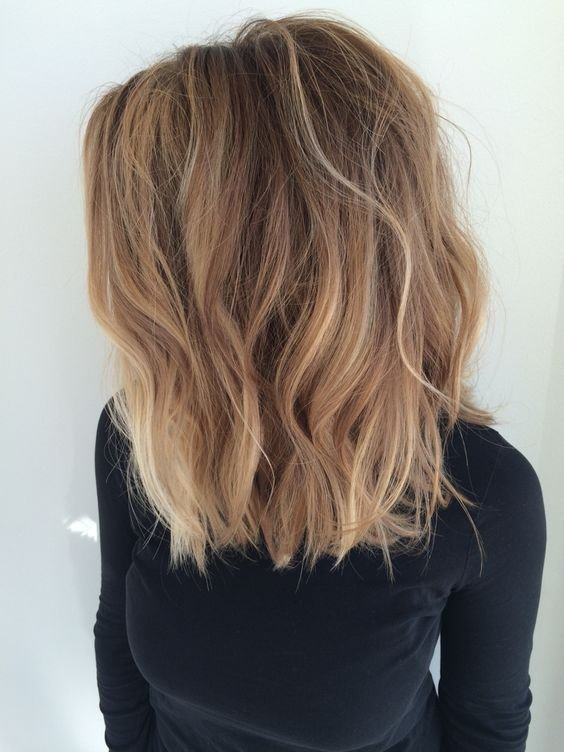 New 15 Balayage Medium Hairstyles – Balayage Hair Color Ideas For Shoulder Length Hair Styles Weekly Ideas With Pictures