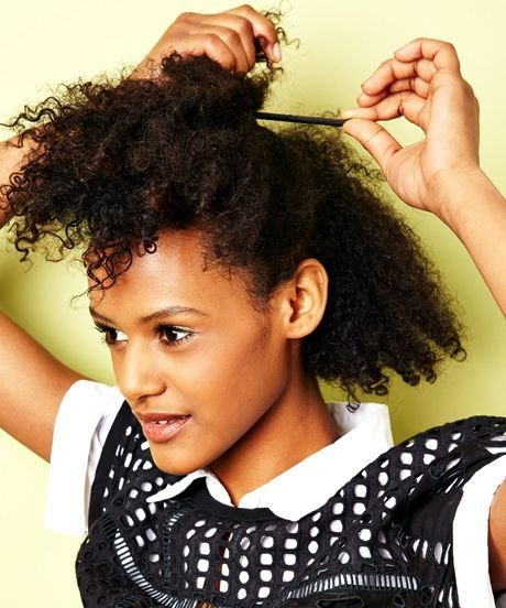 New Easy Natural Hairstyles For Transitioning Hair Ideas With Pictures Original 1024 x 768