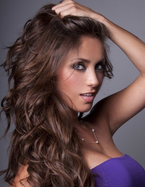 New Celebrity Hair Colors Anahí With Brunette Hair 490173 Ideas With Pictures