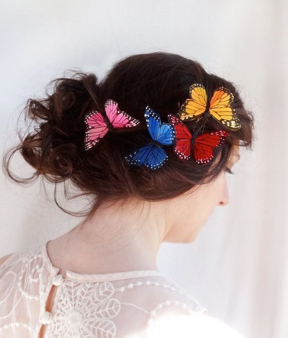 New Colorful Hair Accessories For Your Wedding Day Arabia Ideas With Pictures