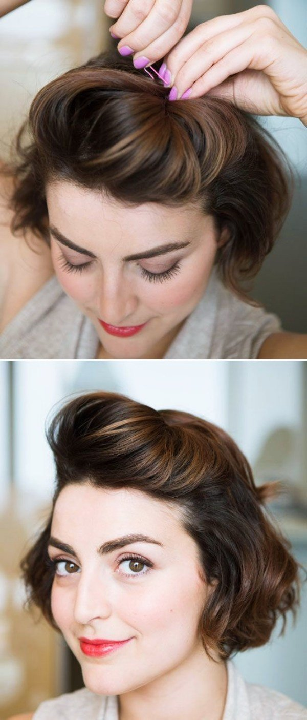 New 40 Easy Hairstyles No Haircuts For Women With Short Hair Ideas With Pictures
