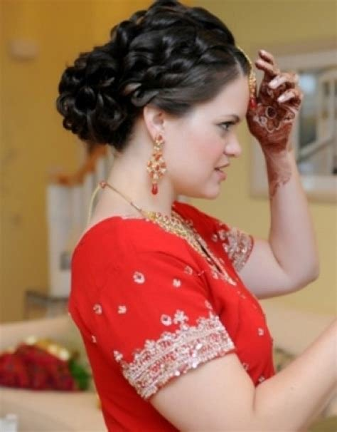 New Indian Wedding Hair Half Up Hollywood Official Ideas With Pictures