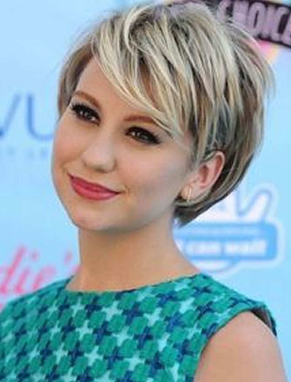 New Short Haircuts For Round Face Thin Hair Ideas For 2018 Ideas With Pictures