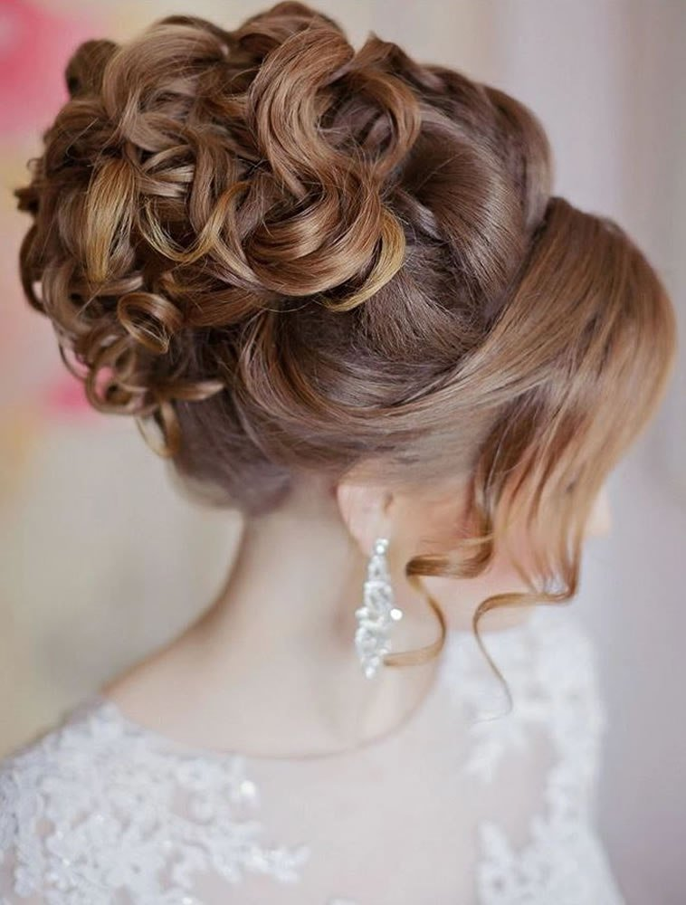 New 2018 Wedding Updo Hairstyles For Brides Hair Colors For Long Hair – Page 5 – Hairstyles Ideas With Pictures