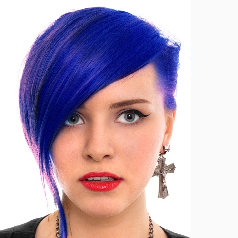 New Manic Panic Semi Permanent Hair Dye Blue Moon Ideas With Pictures
