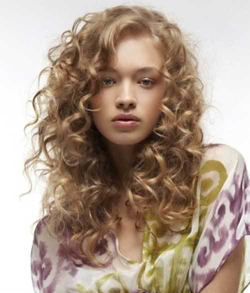 New 35 Long Layered Curly Hair Hairstyles Haircuts 2016 2017 Ideas With Pictures