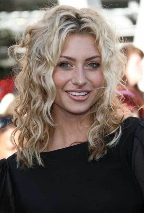 New 35 Medium Length Curly Hair Styles Hairstyles Haircuts 2016 2017 Ideas With Pictures
