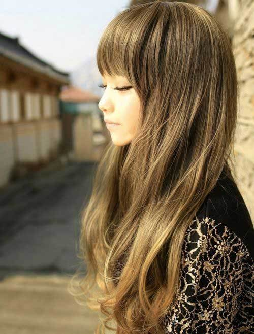 New Best Asian Long Hairstyles Hairstyles Haircuts 2016 2017 Ideas With Pictures