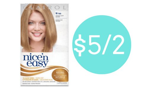 New Clairol Hair Color 1 89 Ea At Target Southern Savers Ideas With Pictures