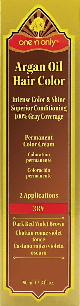 New One N Only Argan Oil Permanent Hair Color Cream Natural Ideas With Pictures