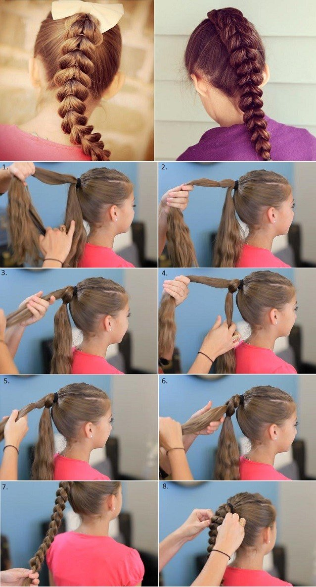 New Pull Through Braid Hairstyle Salon Quality Results At Home Ideas With Pictures