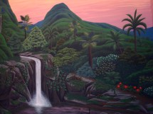 Tropical Cove Mural