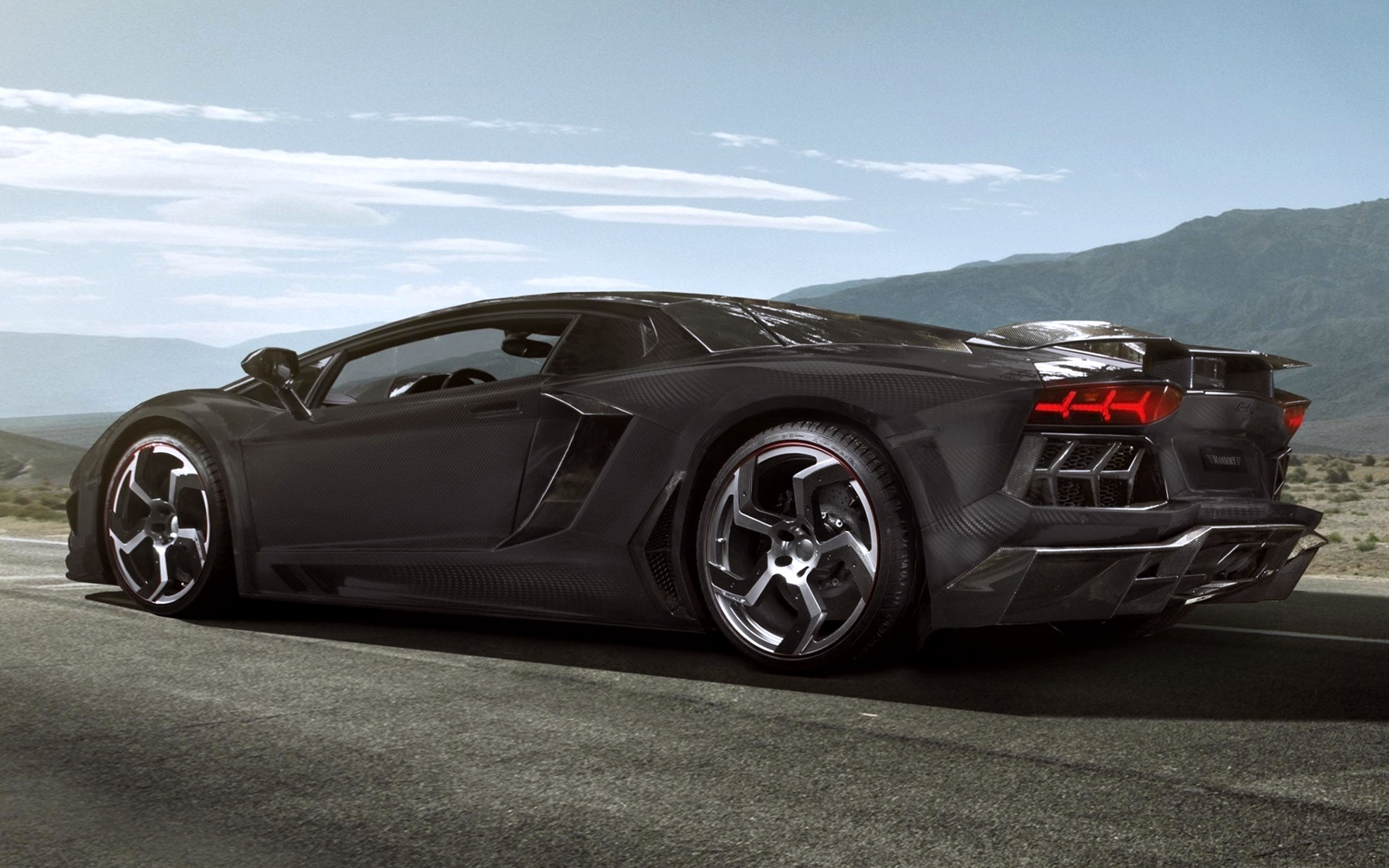 Car 5760x1080 Wallpaper Black Car Lamborghini Wallpapers Hd Desktop And Mobile
