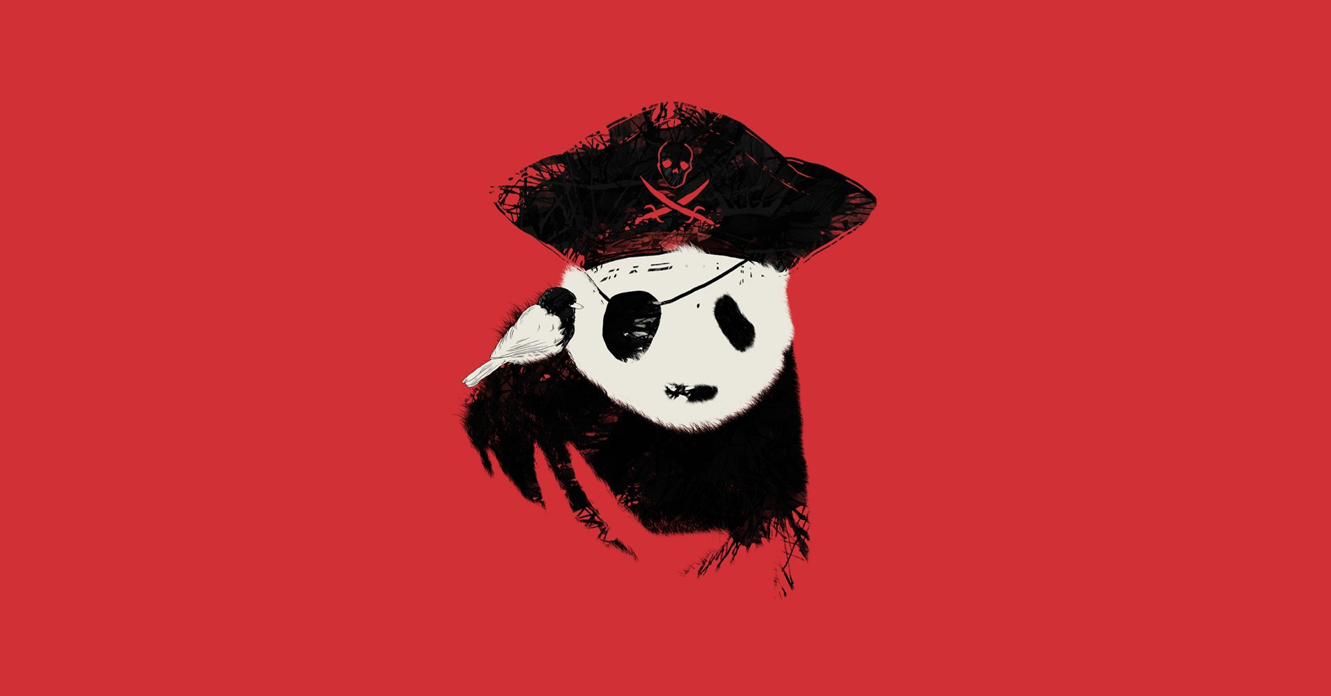 Wallpaper Dope Girls Panda Bears Solid Simplistic Simple Abstract Pirates