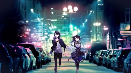 anime street fantasy lights colorful wallpapers hd backgrounds desktop night