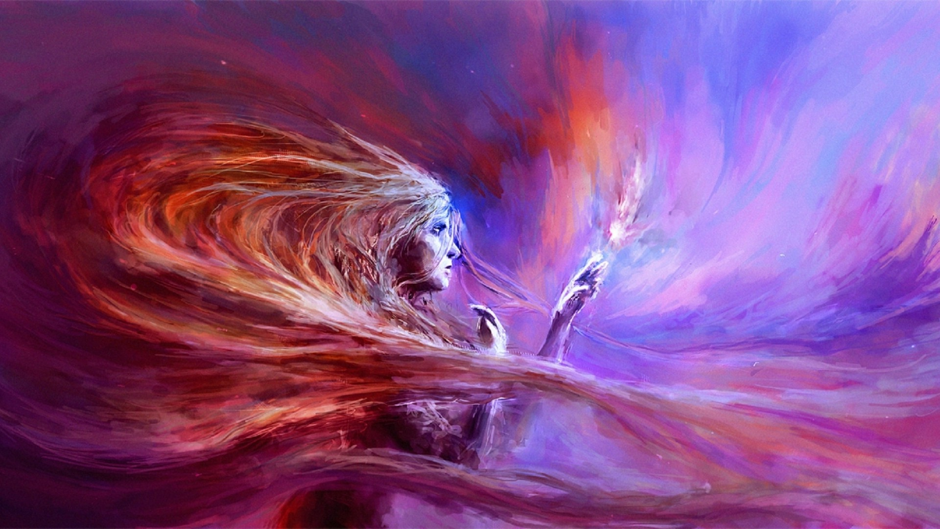 artwork, fantasy art, women, abstract, colorful wallpapers hd