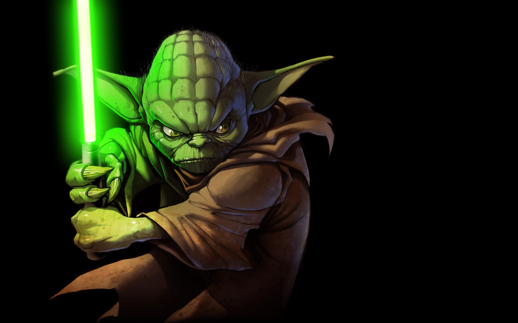 Hulk 3d Wallpaper Full Hd Yoda Star Wars Lightsaber Wallpapers Hd Desktop And