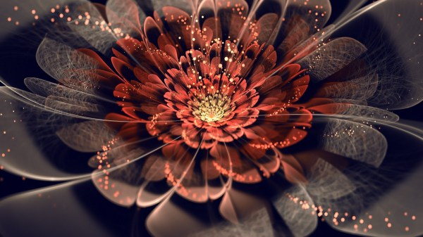 Flowers Fractal Abstract Wallpapers Hd