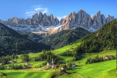 mountain village nature summer landscape tyrol forest wallpapers morning hd desktop grass backgrounds austria place res mobile background resolution screen