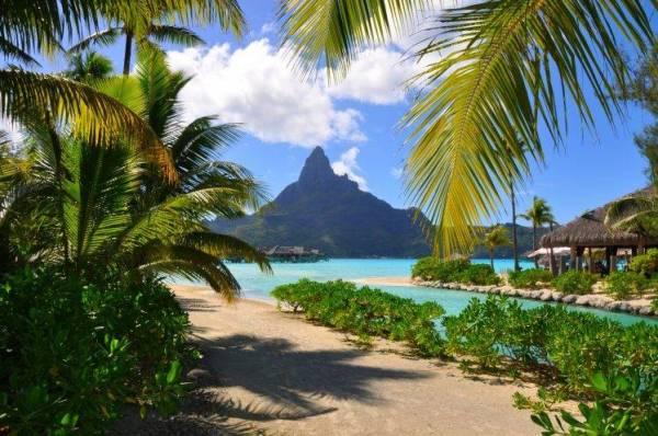 bora resort beach french