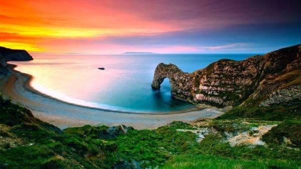 nature landscape sea water
