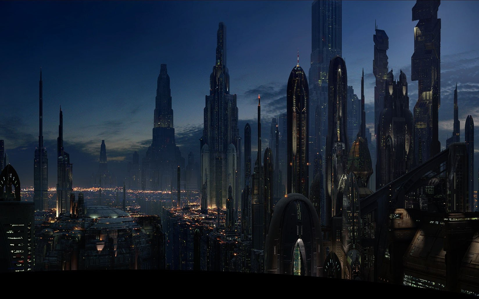 Computer Wallpaper For Teenage Girls Fantasy Art Coruscant Star Wars Futuristic Wallpapers