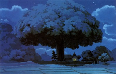 ghibli studio totoro wallpapers anime fantasy desktop hd backgrounds computer background landscape nature tree winter sky snow px branch earth