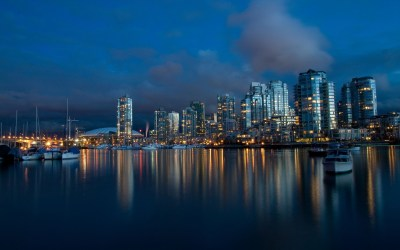 anime cityscape vancouver wallpapers backgrounds hd desktop chile night cityscapes wallpapersafari mobile code wallup