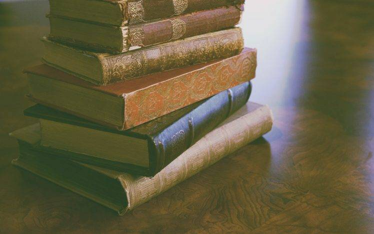 books vintage old wallpapers