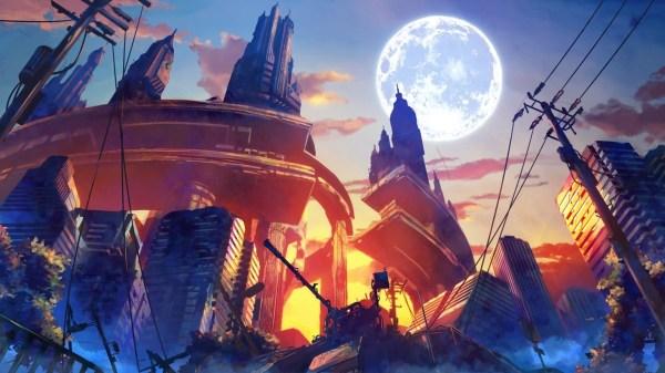 Anime Art Desktop Wallpaper