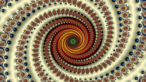 Fractal Spiral Abstract Wallpapers Hd Desktop And