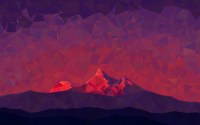 mountain, Abstract, Poly Wallpapers HD / Desktop and ...